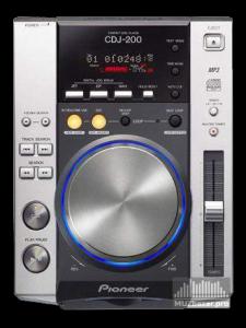 Проигрыватель компакт-дисков PIONEER CDJ-200